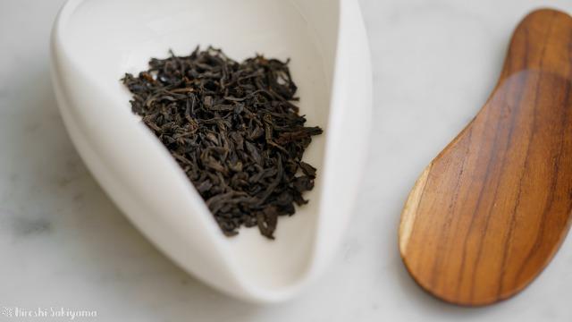 正山小種(ラプサンスーチョン)の茶葉