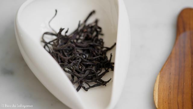 紅玉紅茶の茶葉