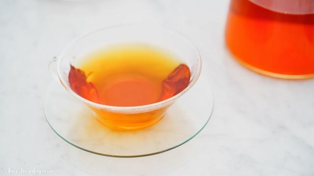 ティーポット・リーフで淹れた美味しい紅茶